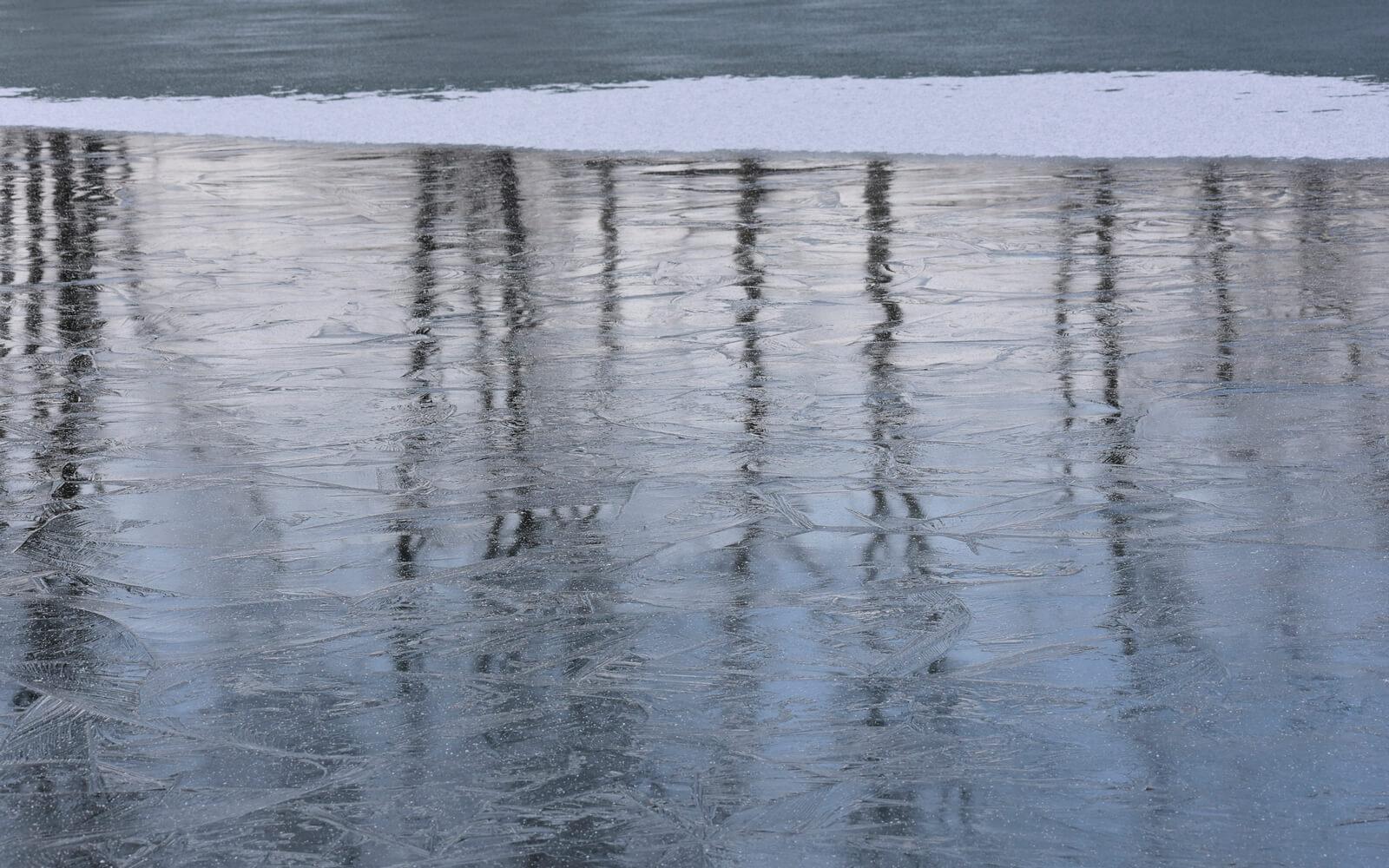 魚上氷 うおこおりをいずる